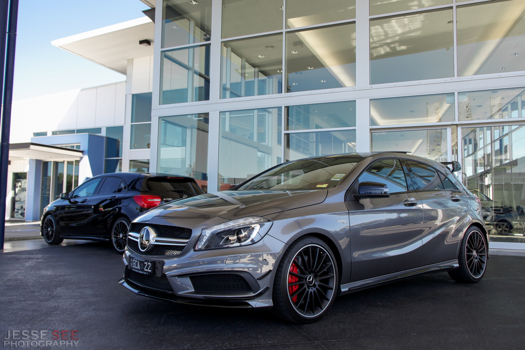 2018 Mercedes Benz A45 AMG photo - 2