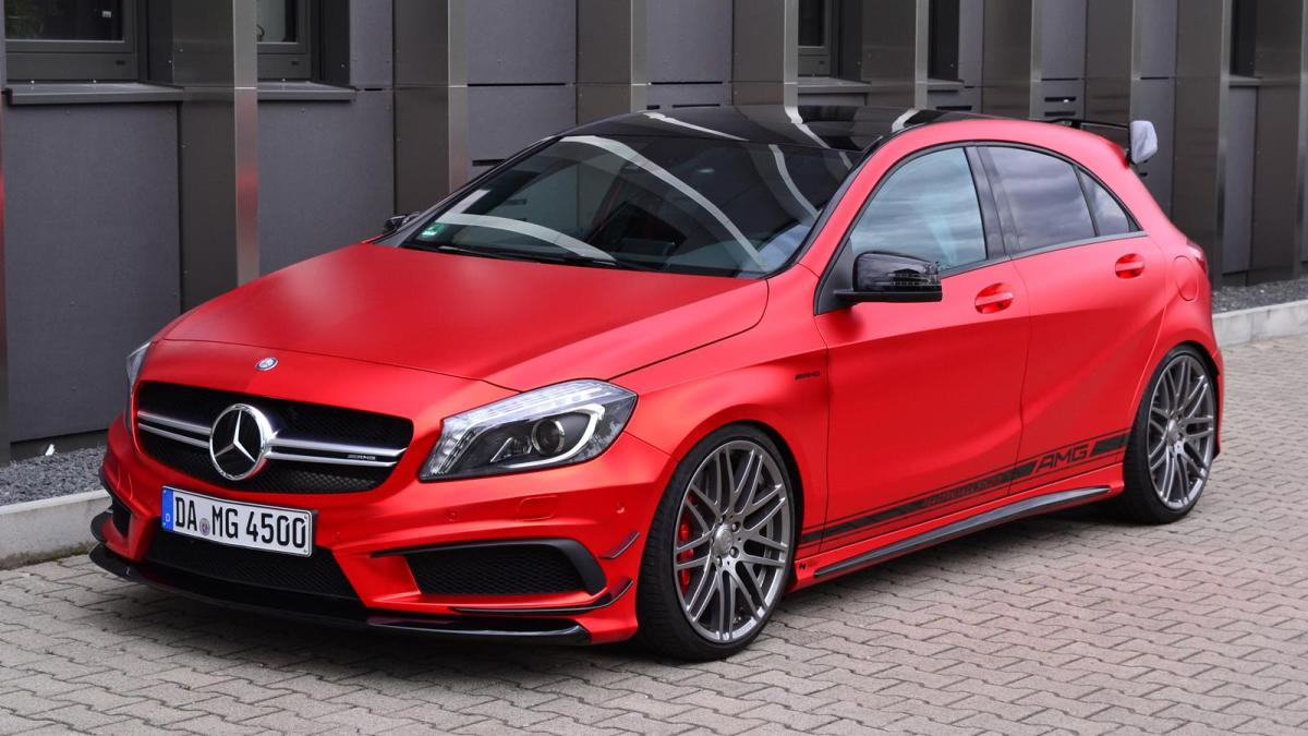 2018 Mercedes Benz A45 AMG photo - 4
