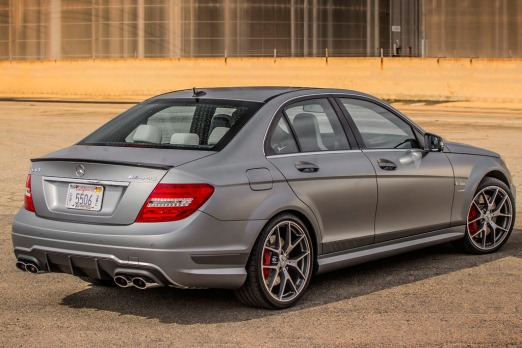 2018 Mercedes Benz C63 AMG Edition 507 photo - 5