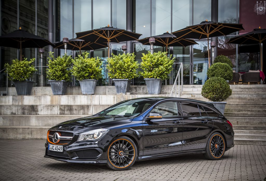 2018 Mercedes Benz Cla Shooting Brake Car Photos Catalog