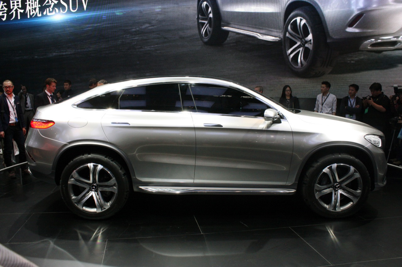 2018 Mercedes Benz Coupe SUV Concept photo - 2