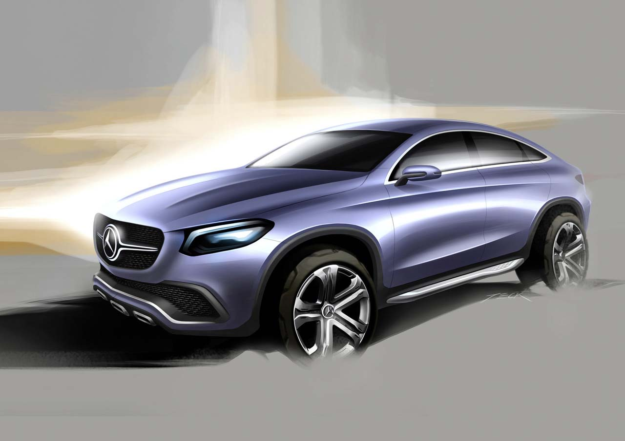 2018 Mercedes Benz Coupe SUV Concept photo - 3