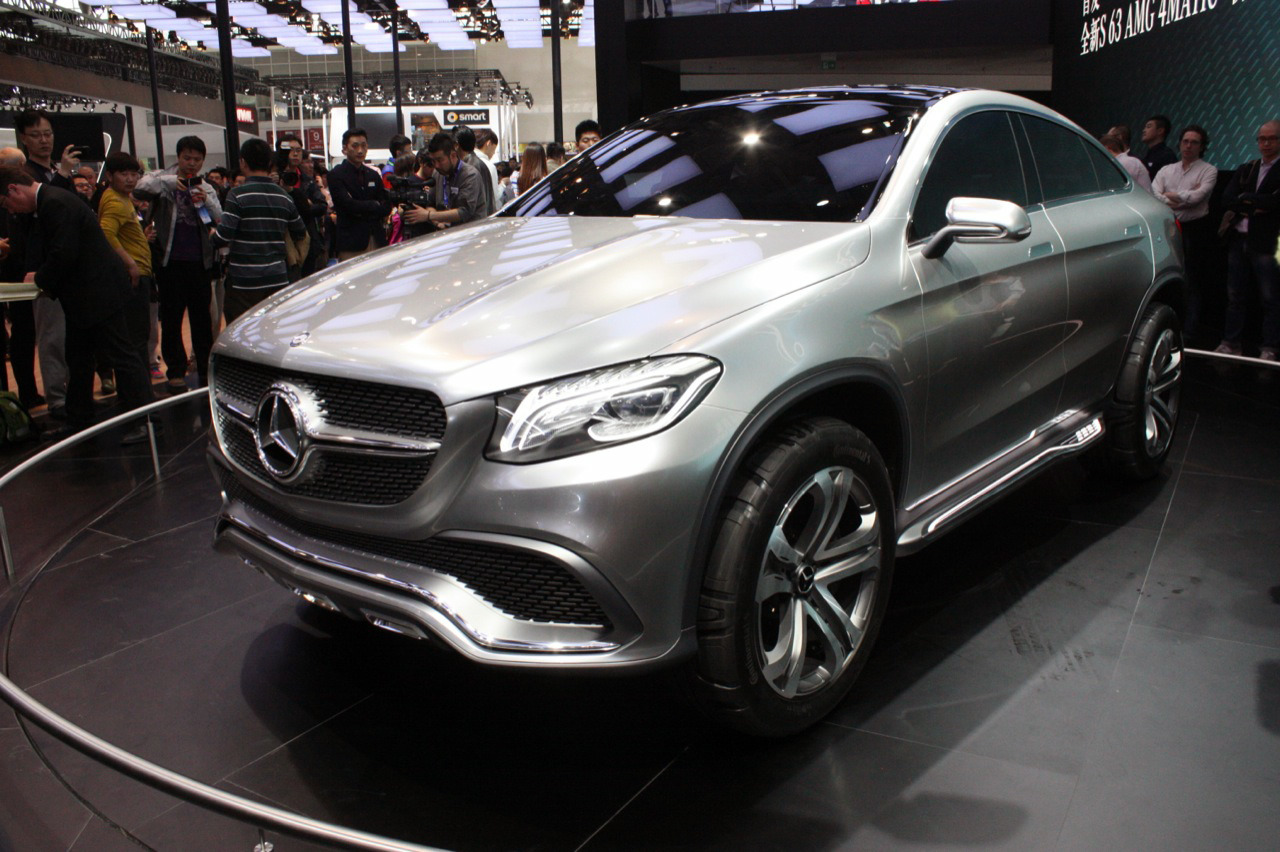 2018 Mercedes Benz Coupe SUV Concept photo - 4