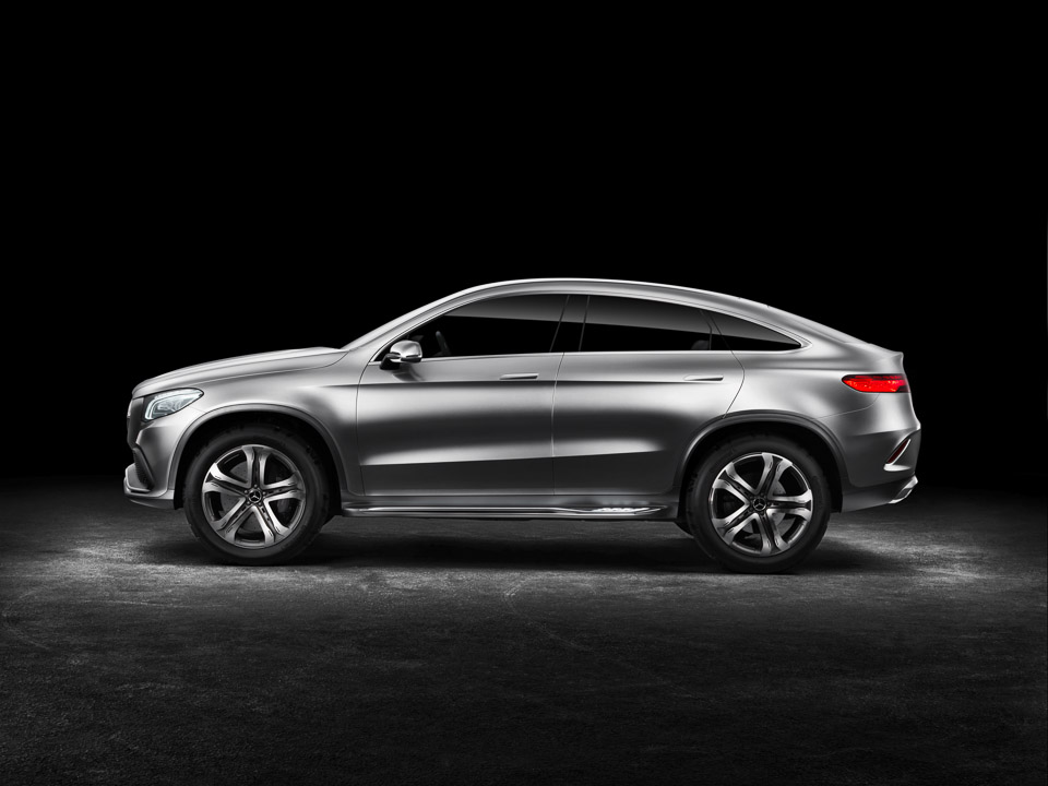2018 Mercedes Benz Coupe SUV Concept photo - 5