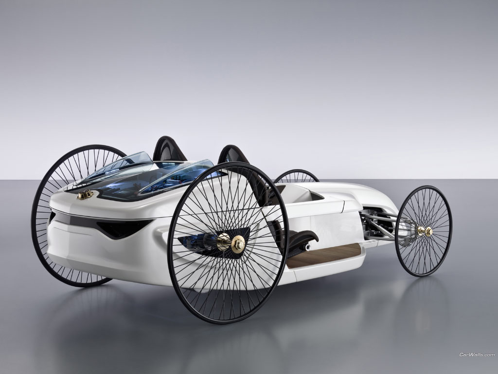 2018 Mercedes Benz F Cell Roadster Concept photo - 5
