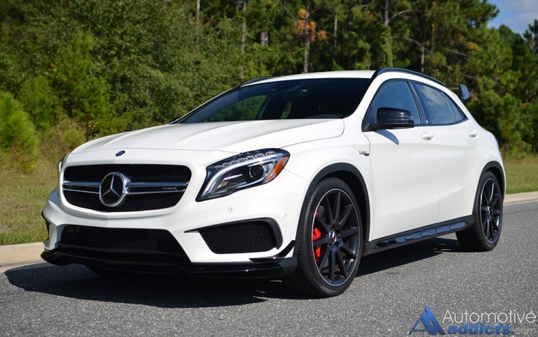 2018 Mercedes Benz GLA45 AMG photo - 4