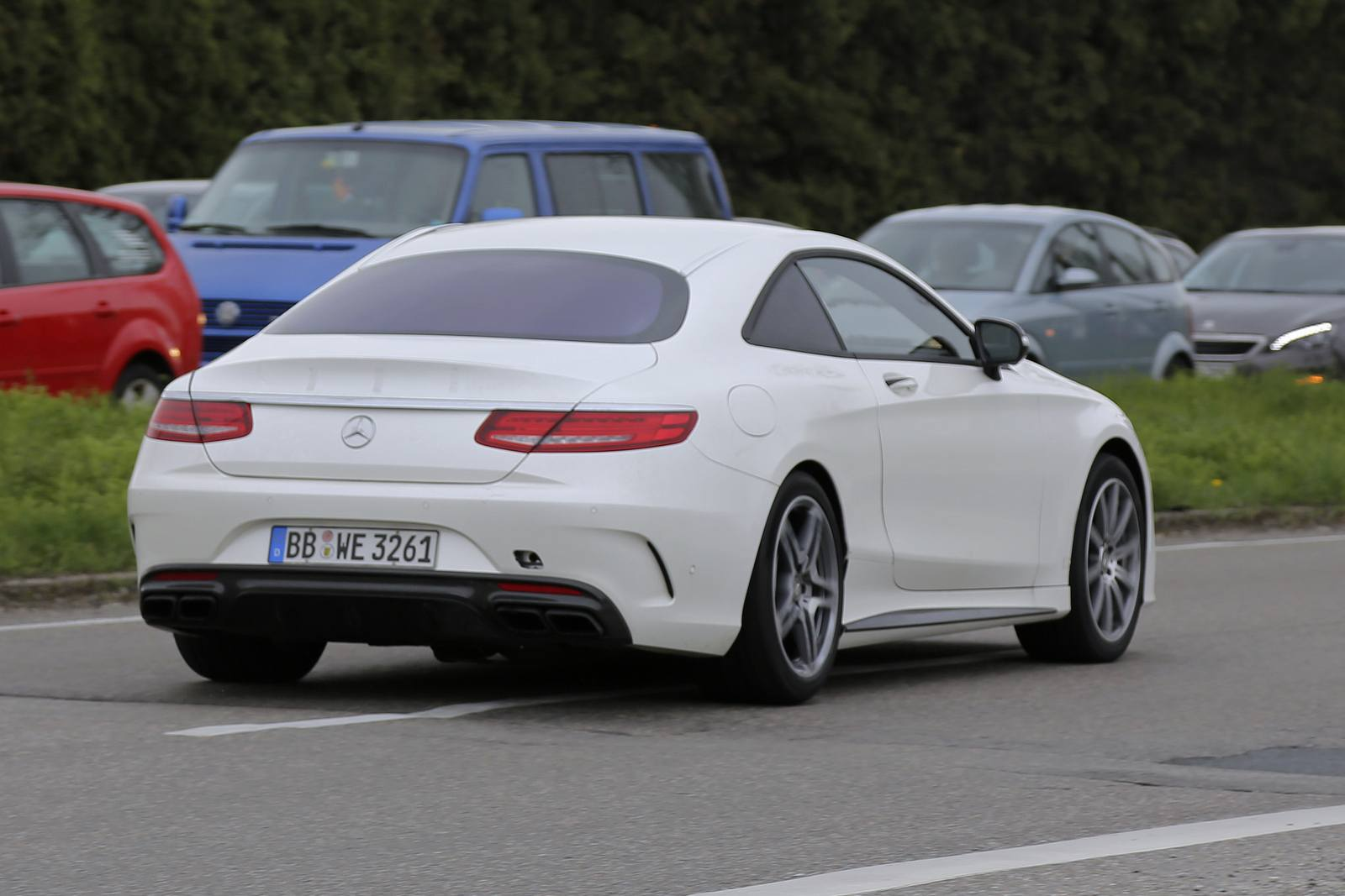 2018 Mercedes Benz S Class Coupe photo - 3