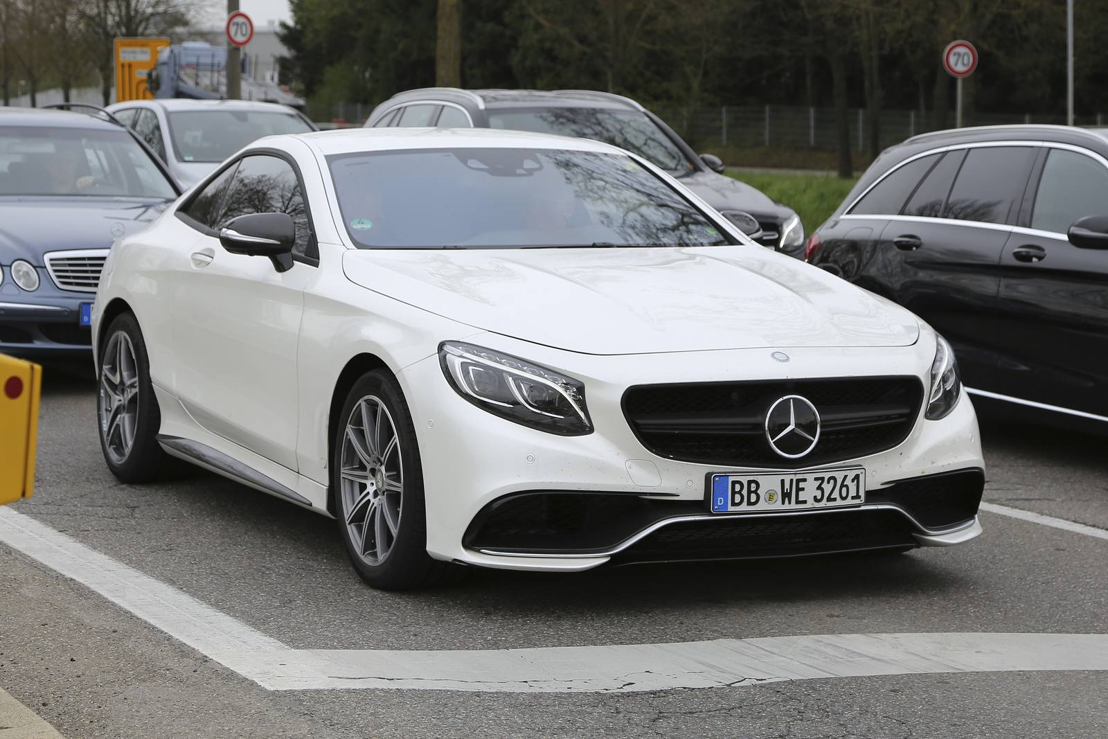 2018 Mercedes Benz S Class Coupe photo - 5