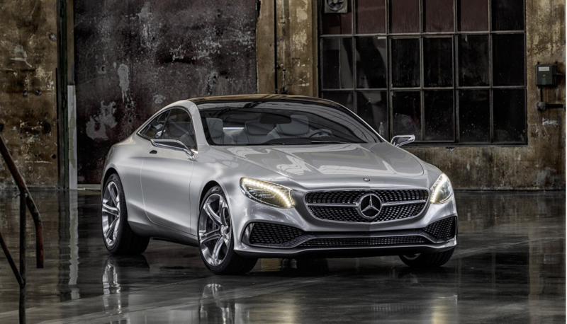 2018 Mercedes Benz S Class Coupe Concept photo - 4