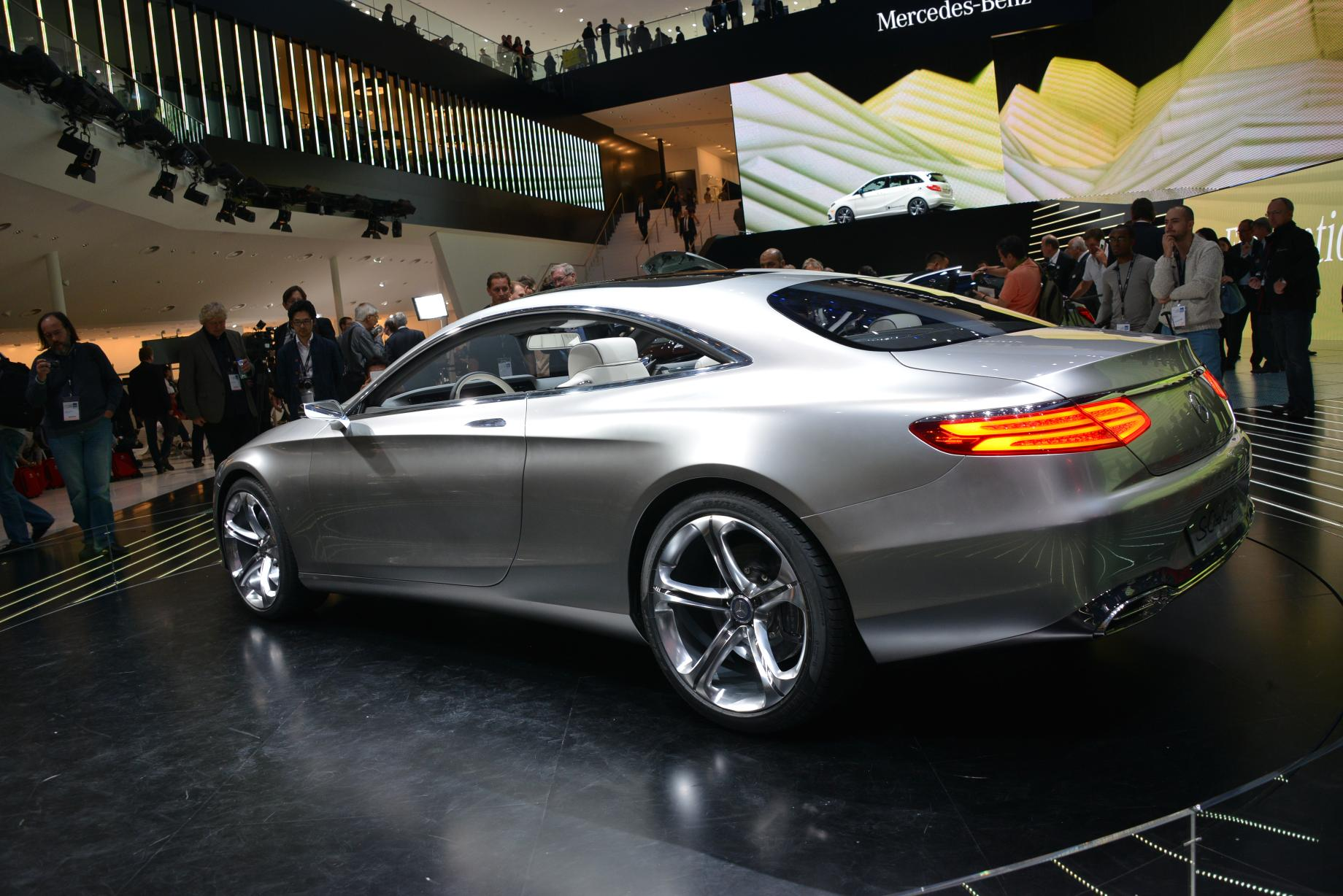 2018 Mercedes Benz S Class Coupe Concept photo - 5