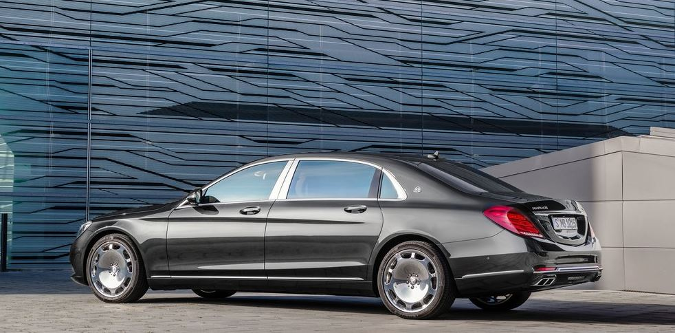 2018 Mercedes Benz S Class Maybach photo - 4
