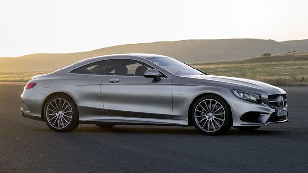 2018 Mercedes Benz S550 Coupe photo - 1