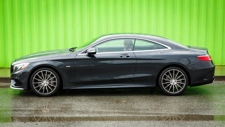 2018 Mercedes Benz S550 Coupe photo - 5
