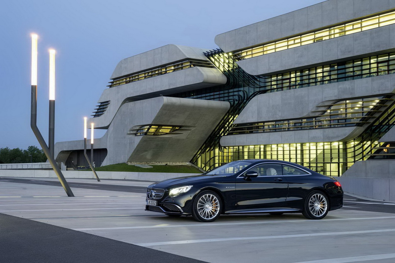 2018 Mercedes Benz S65 AMG Coupe photo - 1
