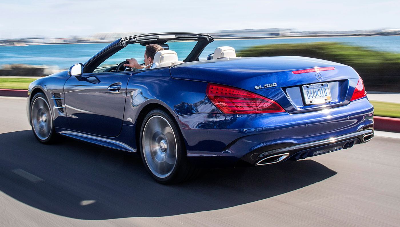 2018 Mercedes Benz SL500 photo - 1