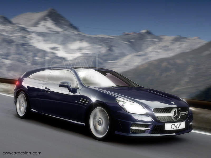 2018 Mercedes Benz SLK Class photo - 3