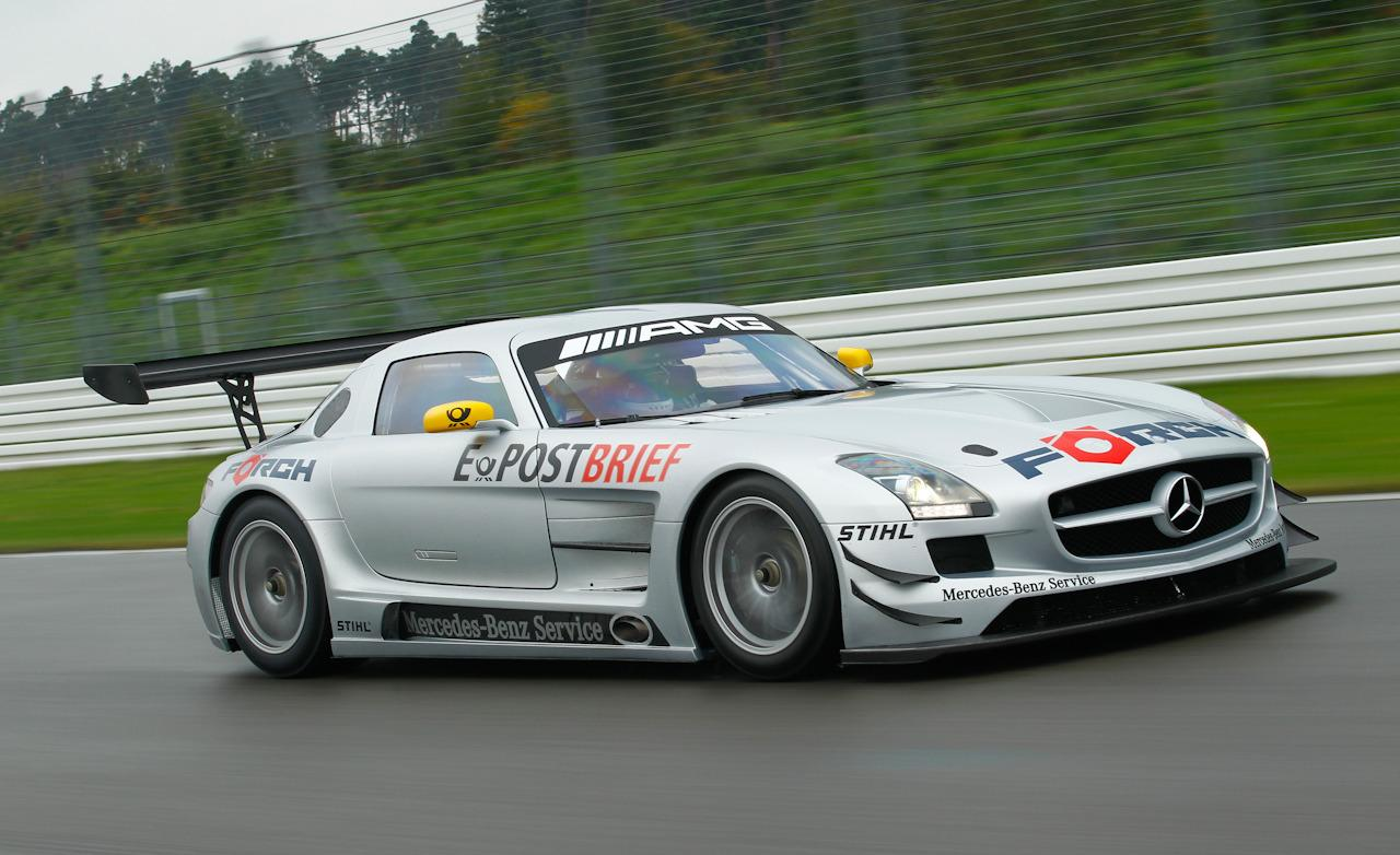 2018 Mercedes Benz SLS AMG GT3 photo - 4