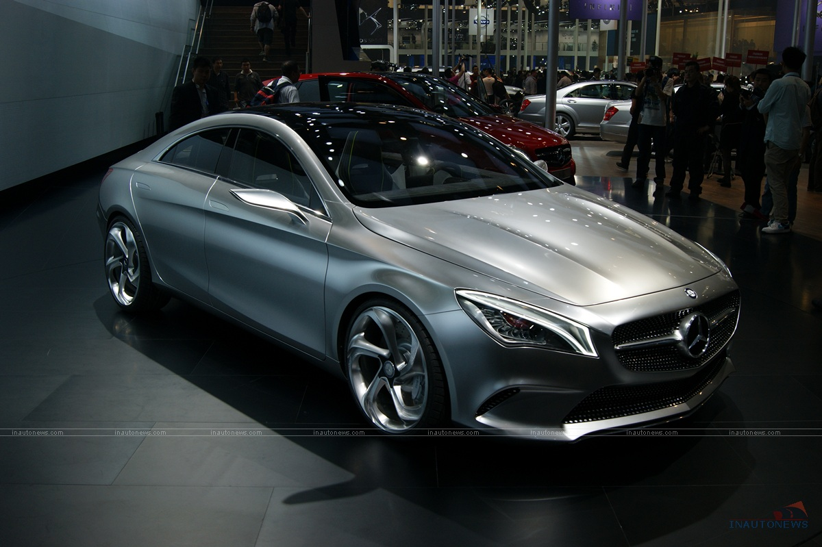 2018 Mercedes Benz Style Coupe Concept photo - 3