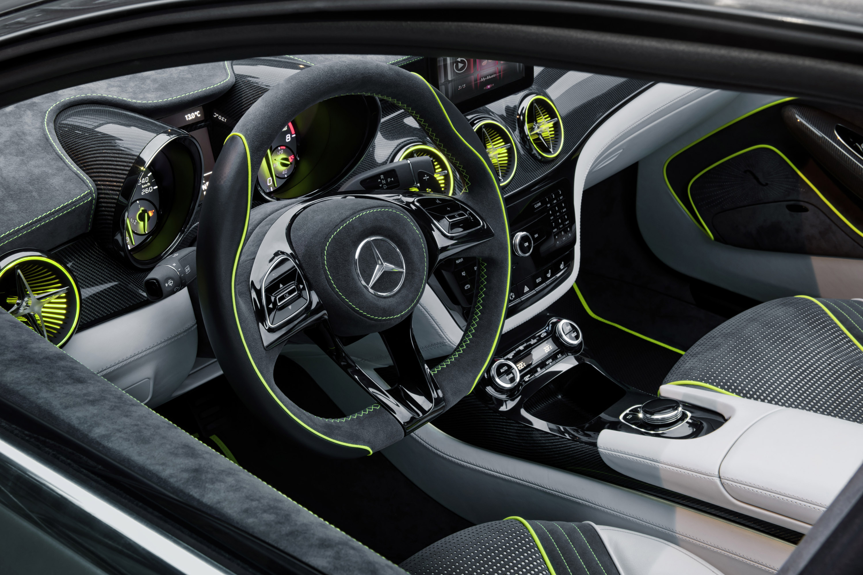 2018 Mercedes Benz Style Coupe Concept photo - 5