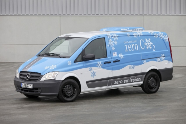 2018 Mercedes Benz Vito E Cell photo - 1