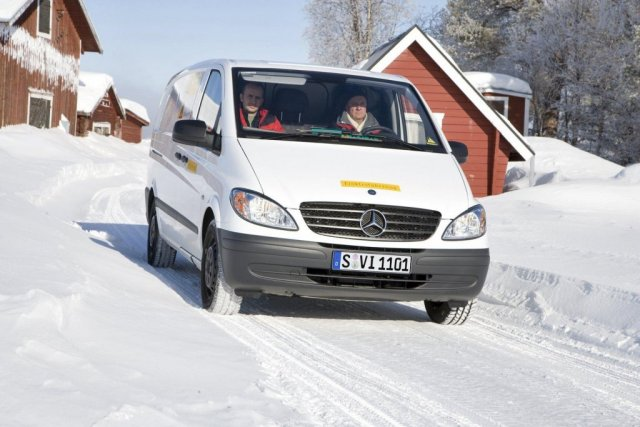 2018 Mercedes Benz Vito E Cell photo - 3