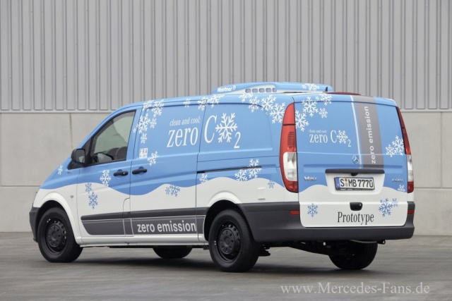 2018 Mercedes Benz Vito E Cell photo - 4