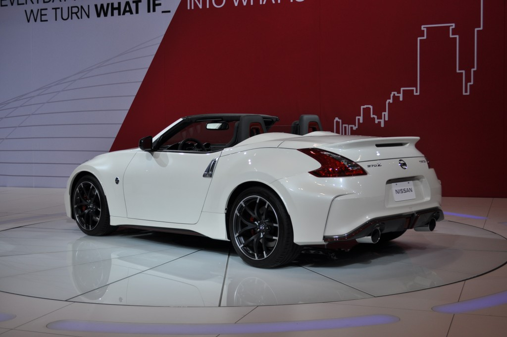 2018 Nissan 370Z Nismo Roadster Concept photo - 3