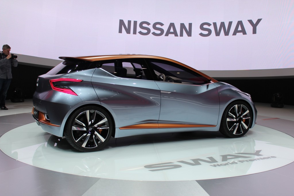 2018 Nissan Sway Concept photo - 2