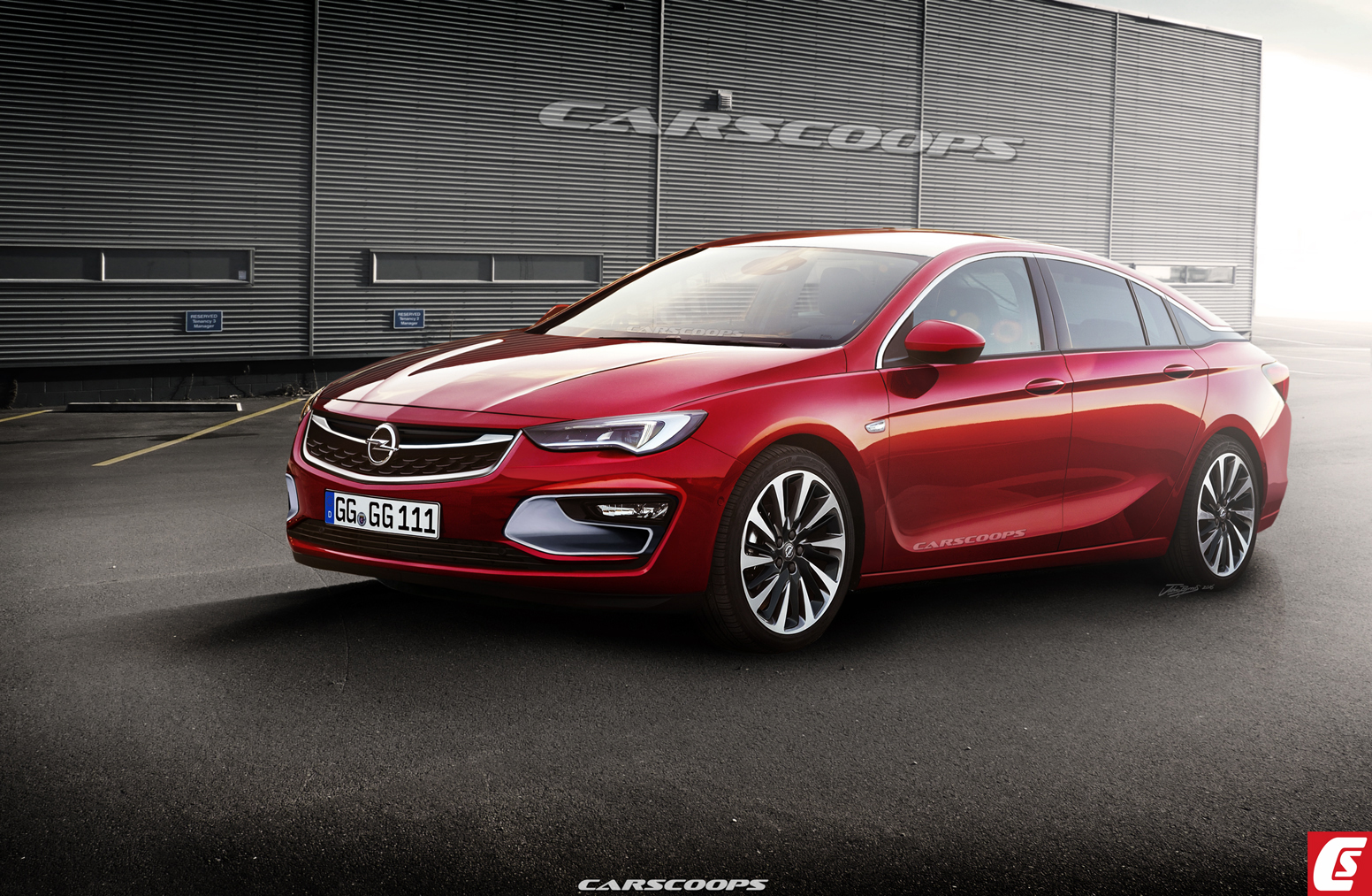 2018 Opel Insignia Hatchback photo - 2