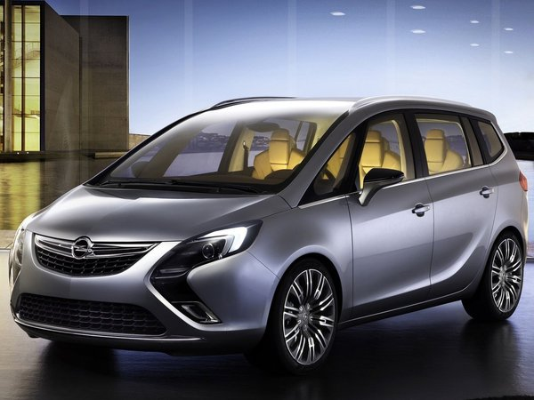 2018 Opel Zafira Tourer Concept photo - 3