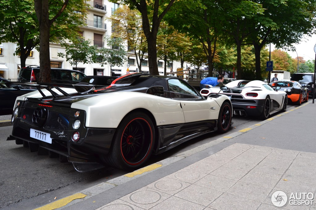 2018 Pagani Zonda Cinque Roadster photo - 4