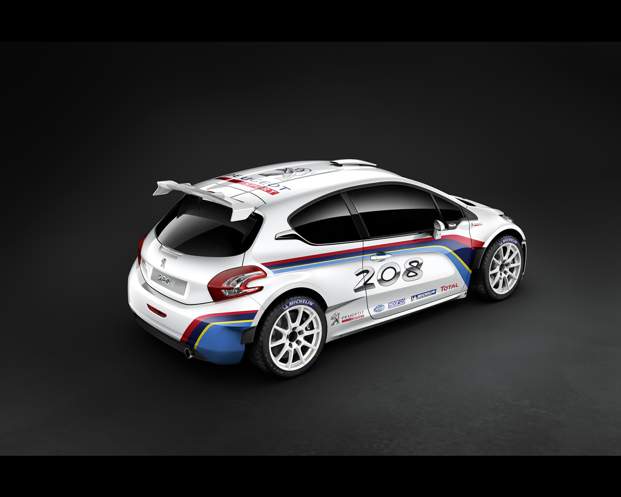 2018 Peugeot 208 R5 Rally car photo - 1