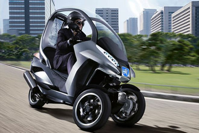 2018 Peugeot HYmotion3 Compressor Concept photo - 5