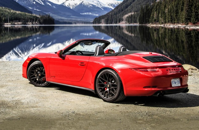 2018 Porsche 911 Carrera Gts Cabriolet Car Photos Catalog 2018