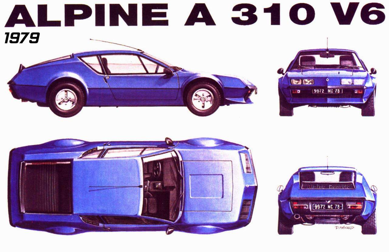 2018 Renault Alpine A 310 V6 Group 4 photo - 3