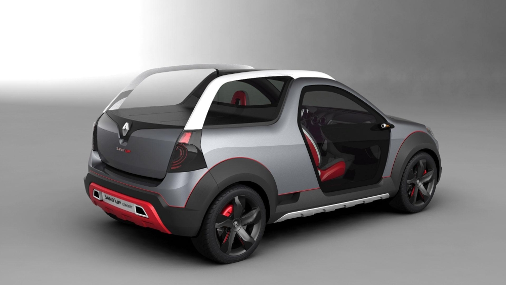 2018 Renault Sand up Concept photo - 3
