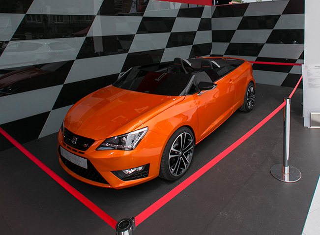 2018 Seat Ibiza Cupster Concept photo - 4