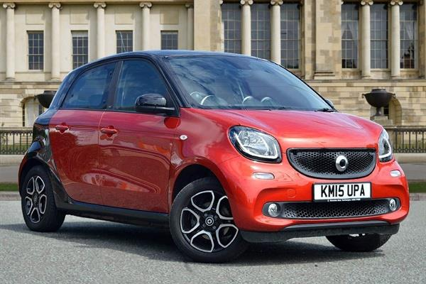 2018 Smart forfour photo - 2