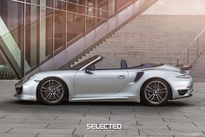 2018 TechArt Porsche 911 Turbo Cabriolet photo - 3