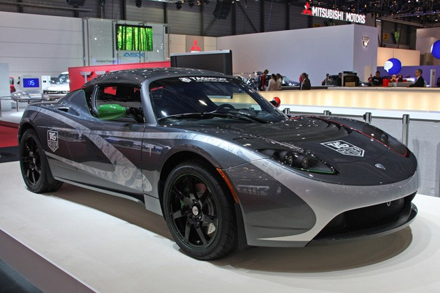 2018 Tesla Roadster TAG Heuer photo - 3