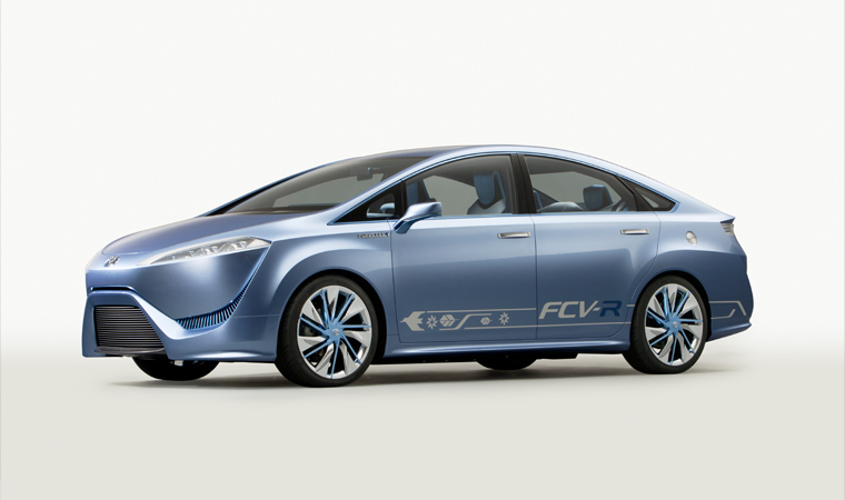 2018 Toyota FCV R Concept photo - 4