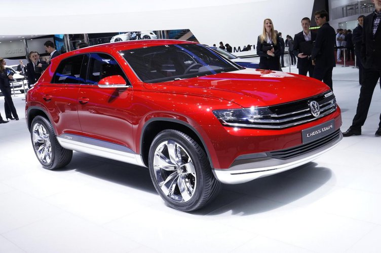 2018 Volkswagen Cross Coupe TDI Concept photo - 2