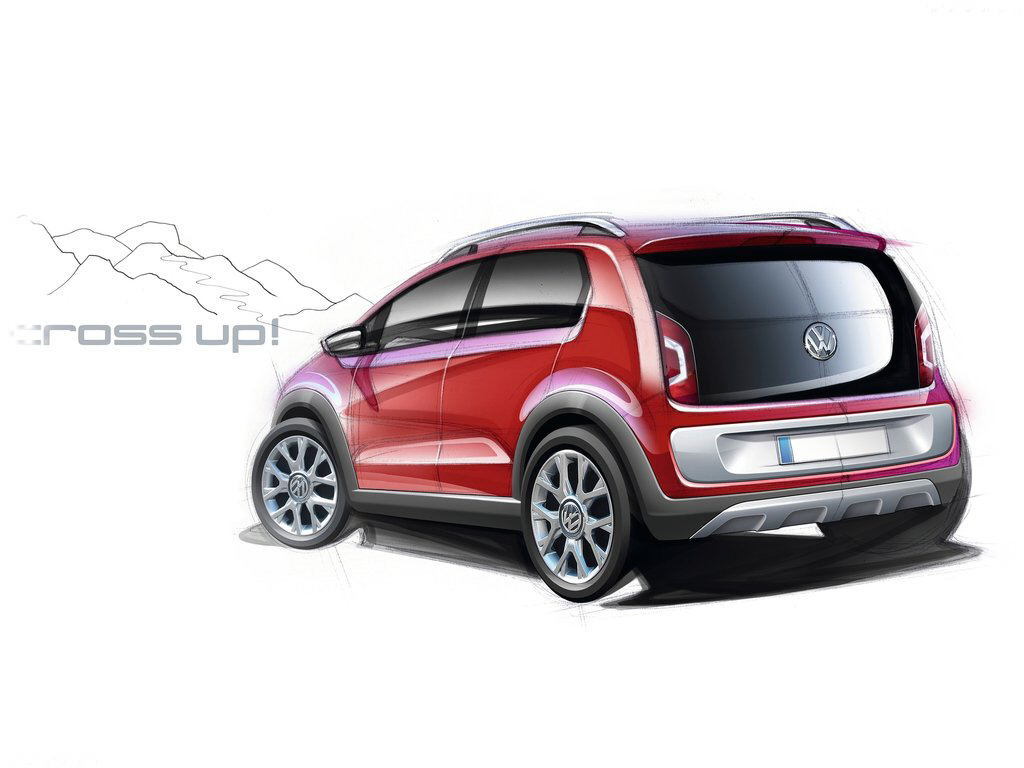 2018 volkswagen cross up concept car photos catalog 2018. Black Bedroom Furniture Sets. Home Design Ideas