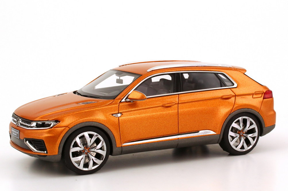2018 Volkswagen CrossBlue Coupe Concept photo - 2