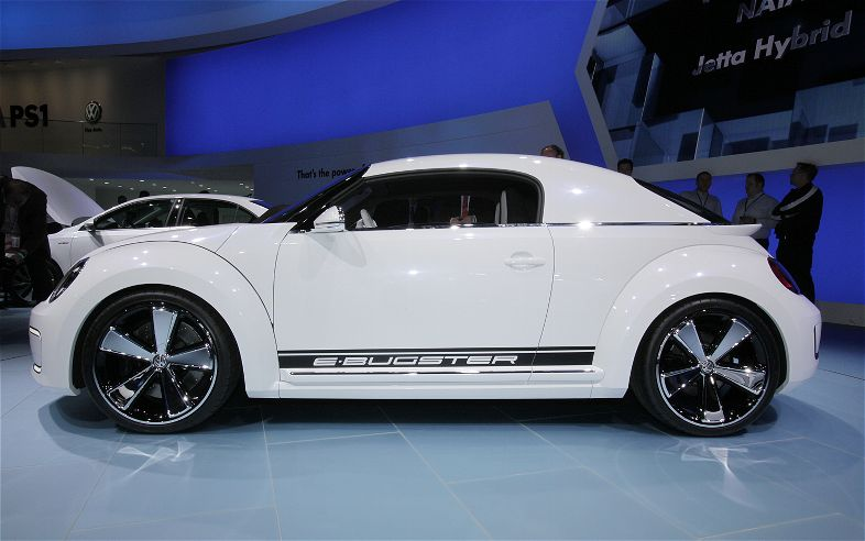 2018 Volkswagen E Bugster Concept photo - 5