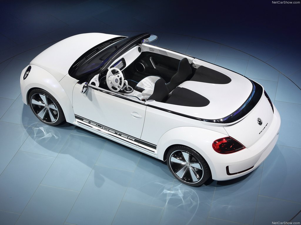 2018 Volkswagen E Bugster Speedster Concept photo - 1