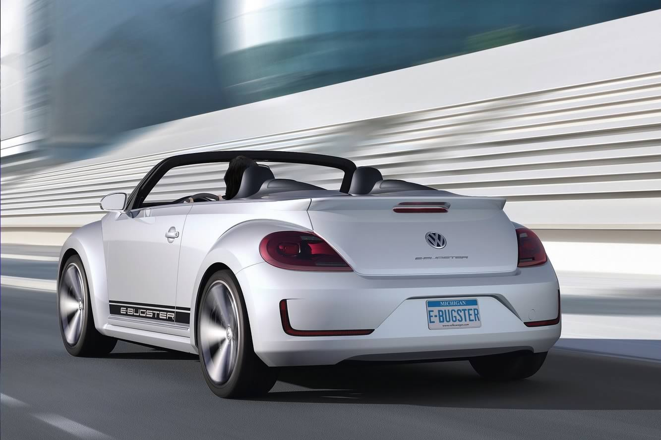 2018 Volkswagen E Bugster Speedster Concept photo - 3
