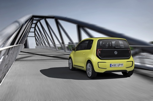 2018 Volkswagen e Up Concept photo - 1