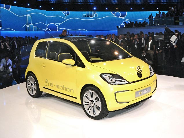 2018 Volkswagen e Up Concept photo - 3