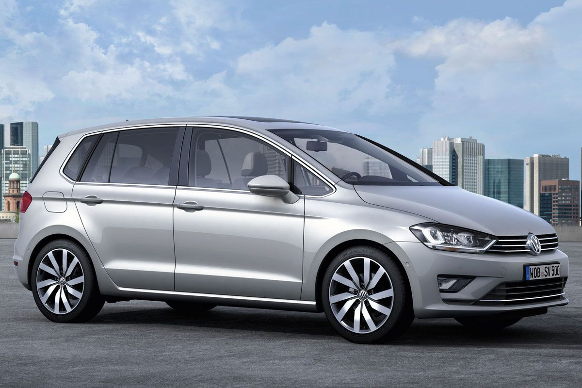 2018 Volkswagen Golf Sportsvan Concept photo - 1